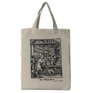 small cotton tote pharmacist bag