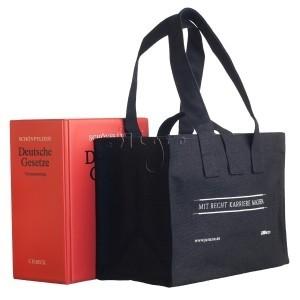 Canvas book bag