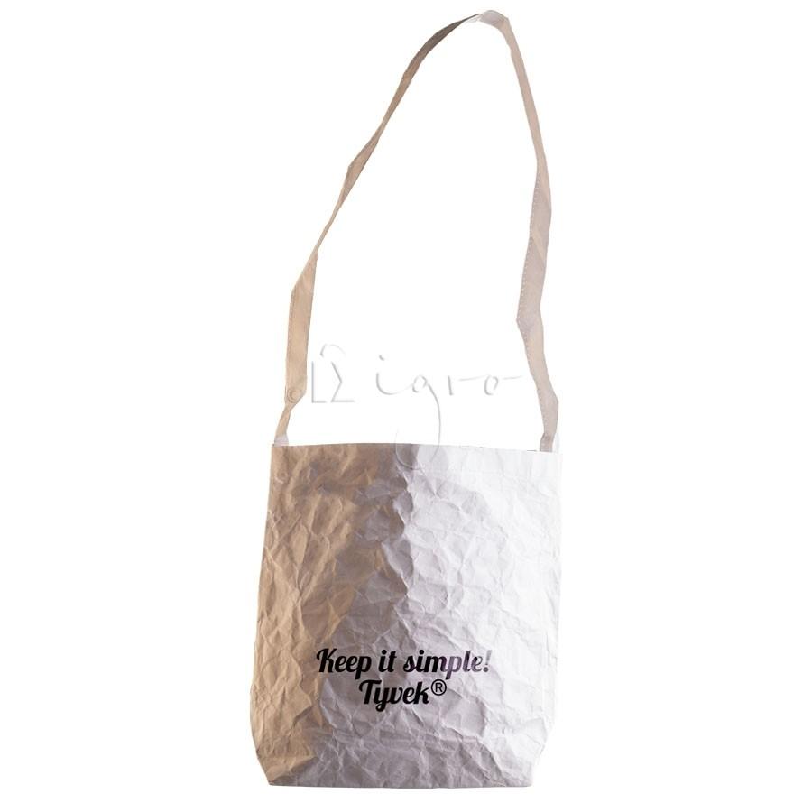 Tyvek Shoulder Bag, long handle