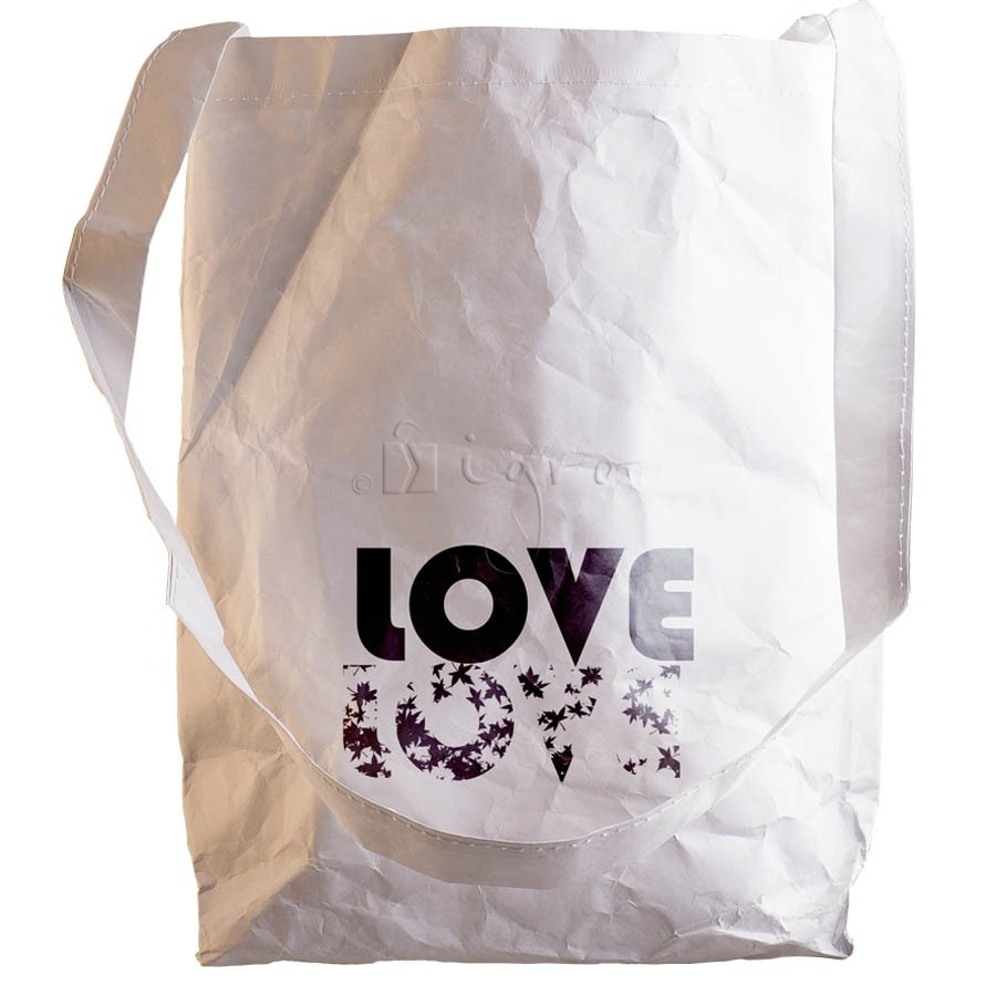 Tyvek Promo Bag, long single handle