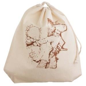Igro's large cotton drawstring bag