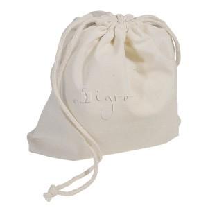 Ecofriendly cotton drawstring bag medium