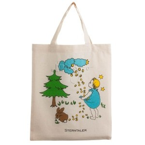 small cotton totes with short handles