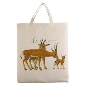 Baumwolltasche Wild Life Antilope