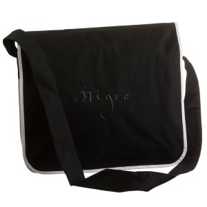 Messenger Bag mit Zierpaspelierung