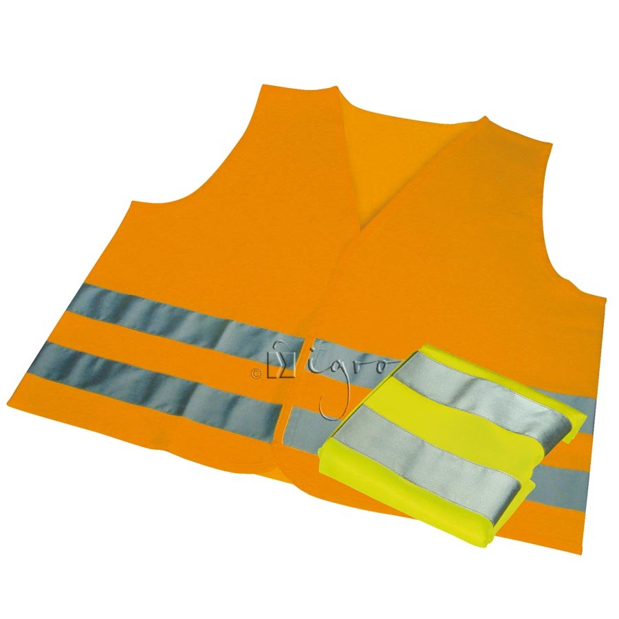 Safety vest for drivers and motor cyclists