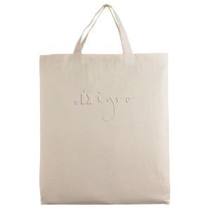 cotton shopping bag short handles