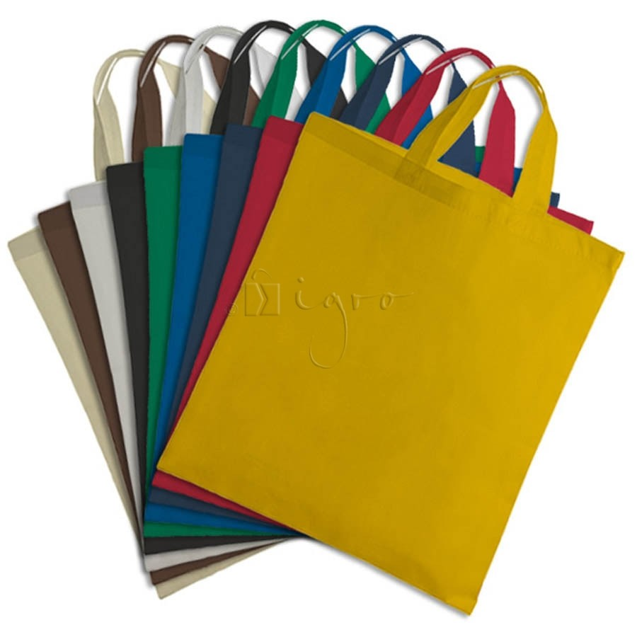 Colour scale for PP non-woven promotion bags with short handles