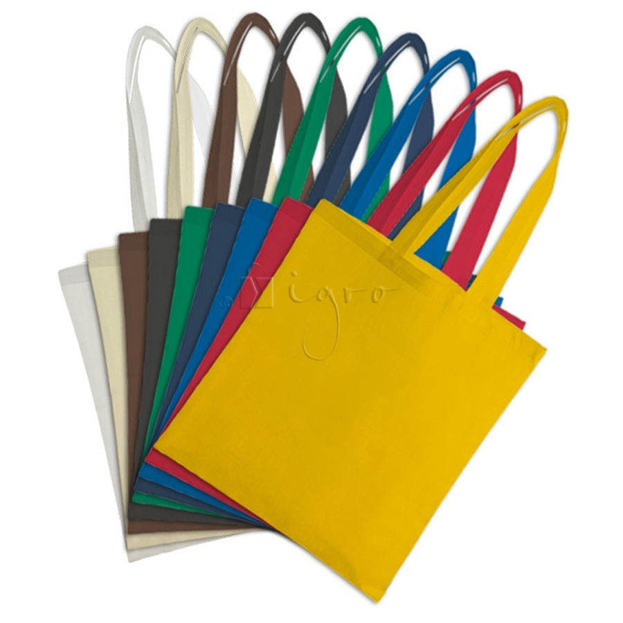 Colour scale for PP non-woven promotion bags with long handles