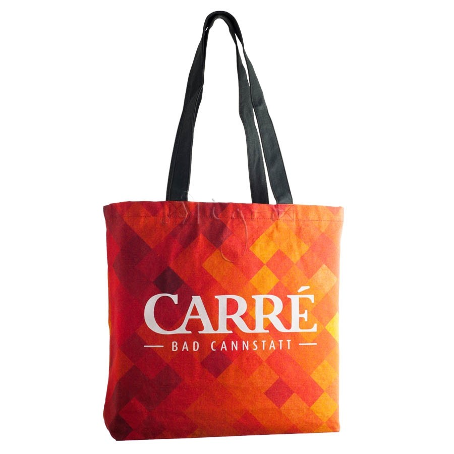 Canvas Shopper, lange Henkel