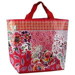 red PP non-woven shopping bag