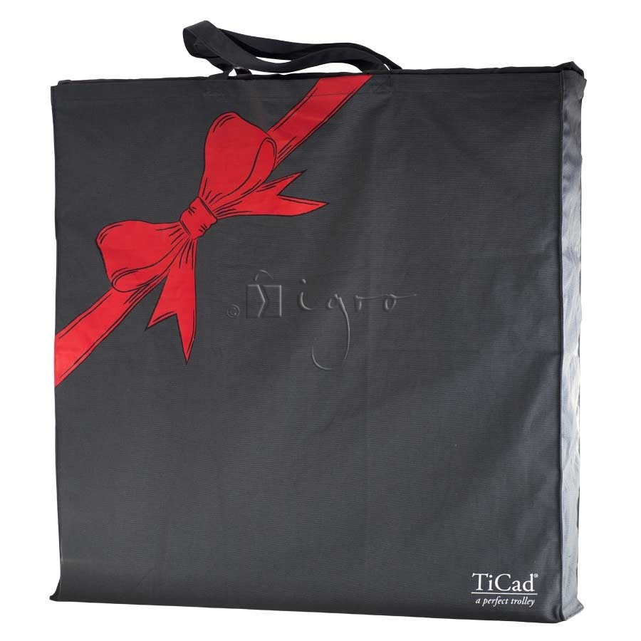 Customised christmas bag with logo print