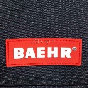 Branded rubber badge