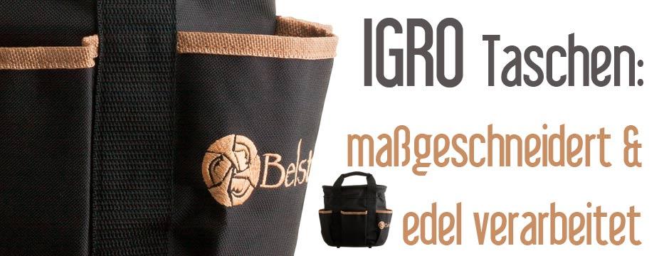 Igro Taschen: Merchandising / Sonderanfertigungen
