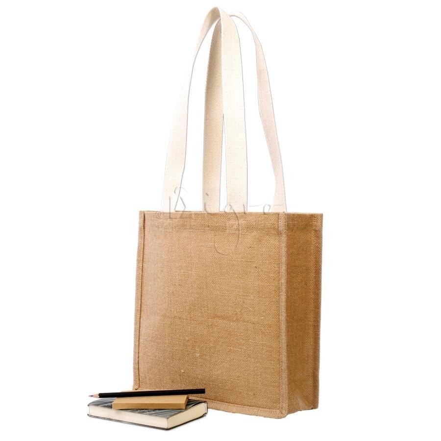 Jute Book Bag