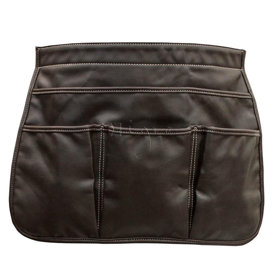 Large Leather Belt Bag