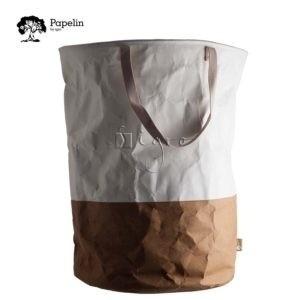 Waschbares Papier Wäschesäcke aus Papelin Werbetaschen