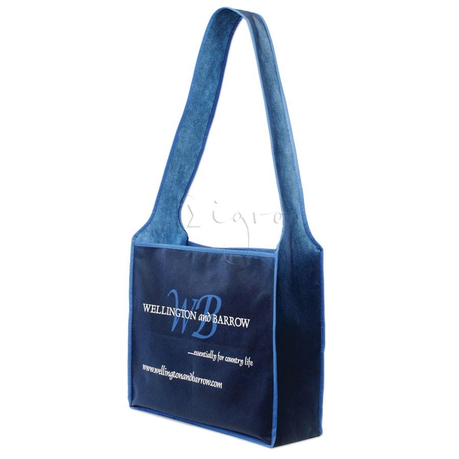 PP Trade Fair bag with broad long handle