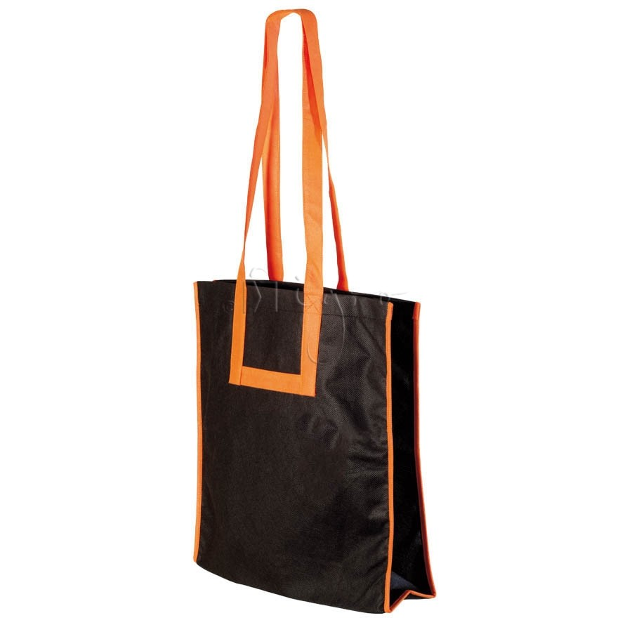 PP City-Bag, long handles, piping