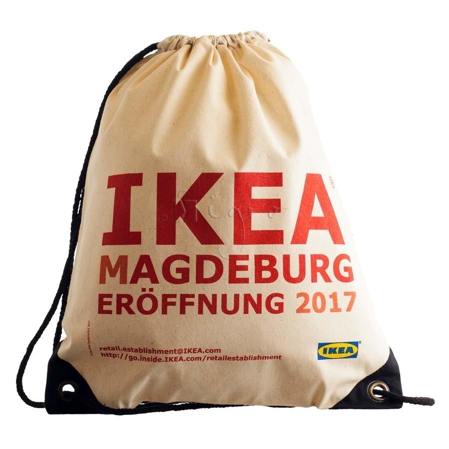 469c4c8737ec Cotton drawstring backpack