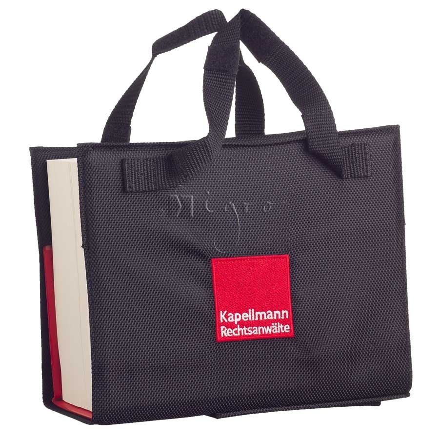 promotional book carrier bag
