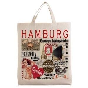 city tote bag Motif Hamburg G116