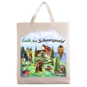 City tote bags motif Schwarzwald G96