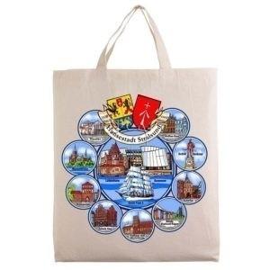City tote bags motif Stralsund G99