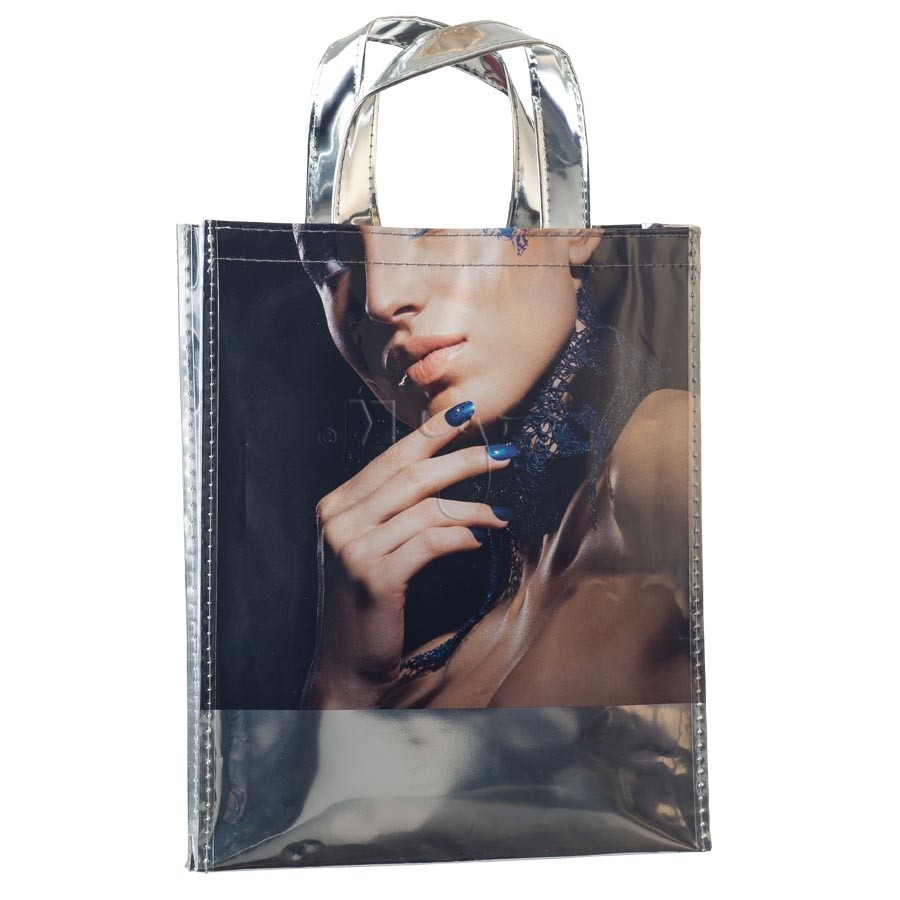 Folien-Tasche mit metallischer Beschichtung