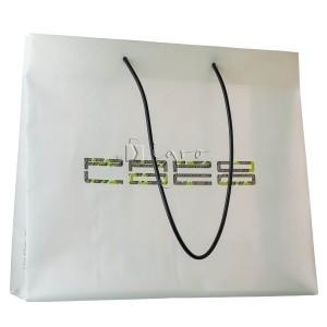 Foil bag Evolution with plastic string handles